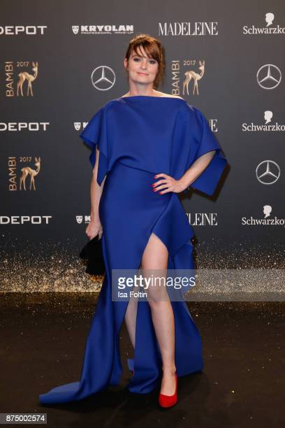 Ina Paule Klink arrives at the Bambi Awards 2017 at Stage Theater on November 16 2017 in Berlin Germany