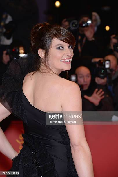 Ina Paule Klink attends the 'Hail Caesar' premiere during the 66th Berlinale International Film Festival Berlin at Berlinale Palace on February 11...