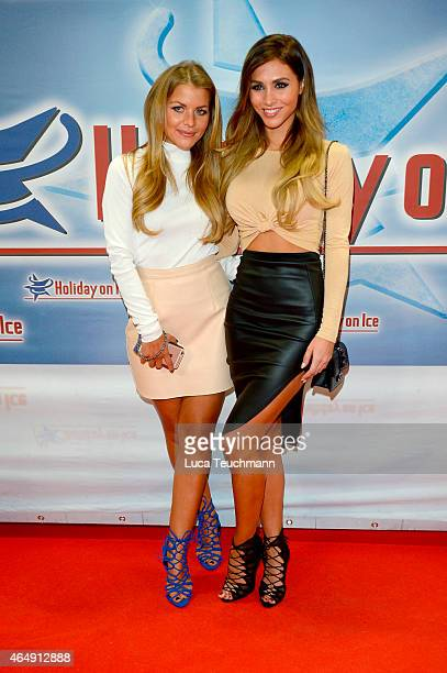 Ina Toennes and AnnKathrin Broemmel attends Holiday on Ice Platinum Show Premiere at Tempodrom on March 1 2015 in Berlin Germany