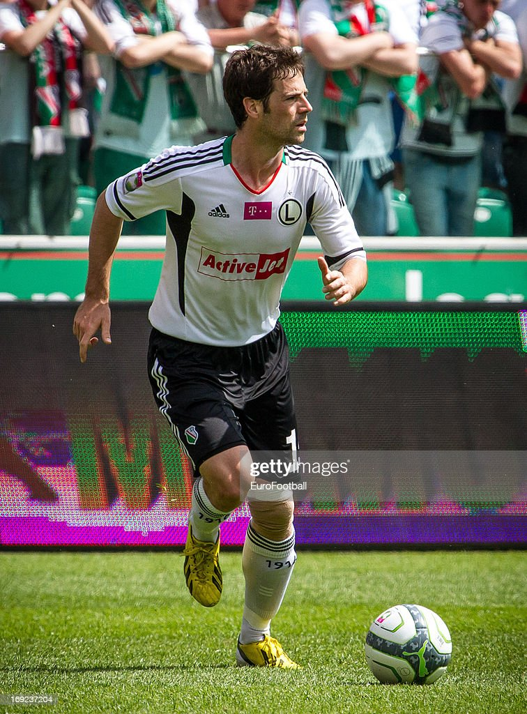 Inaki Astiz of Legia Warszawa in action during the Polish First Division between Legia Warszawa and KKS Lech Poznan held on May 18, 2013 at the Pepsi Arena in Warsaw, Poland.