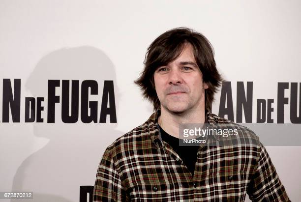 Inaki Dorronsoro attends a photocall for 'Plan de Fuga' at NH Collection Madrid Suecia Hotel on April 25 2017 in Madrid Spain