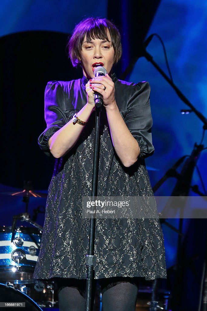 Inara George of Bird & The Bee performs on stage during the 30th Annual ASCAP Pop Music Awards at Loews Hollywood Hotel on April 17, 2013 in Hollywood, California.