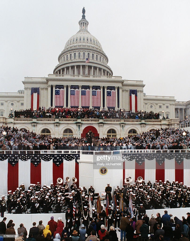 Inauguration Ceremony of George W Bush