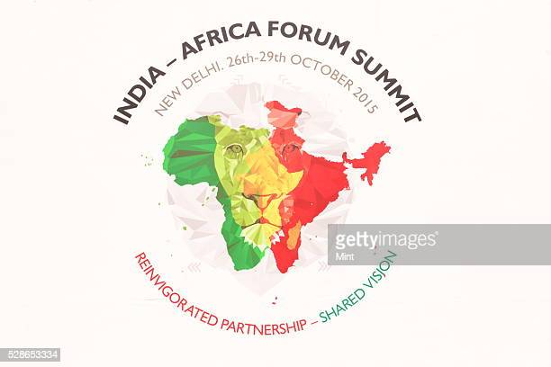 3rd india africa forum summit fotografas e imgenes de stock inauguration of business exhibition at second day of the 3rd india africa forum summit on october gumiabroncs Choice Image