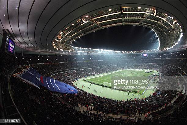 Inauguration of Stade de France in Saint Denis France on January 28 1998