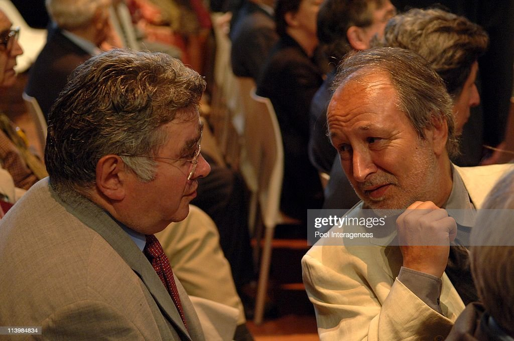 Inauguration of the Quai Branly Museum In France On June 20, 2006 -President <a gi-track='captionPersonalityLinkClicked' href=/galleries/search?phrase=Jacques+Chirac&family=editorial&specificpeople=165237 ng-click='$event.stopPropagation()'>Jacques Chirac</a> inaugurated the Quai Branly museum dedicated to the arts, rather than testimony to the diversity of cultures and invitation has a different perspective on the genius of non-European peoples. <a gi-track='captionPersonalityLinkClicked' href=/galleries/search?phrase=Claude+Allegre&family=editorial&specificpeople=2592673 ng-click='$event.stopPropagation()'>Claude Allegre</a> and Jerome Clement.