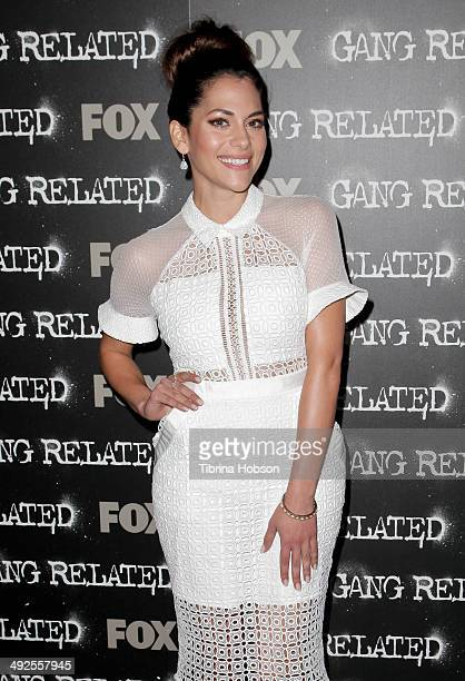 Inbar Lavi attends FOX's new series 'Gang Related' special screening at Petersen Automotive Museum on May 20 2014 in Los Angeles California