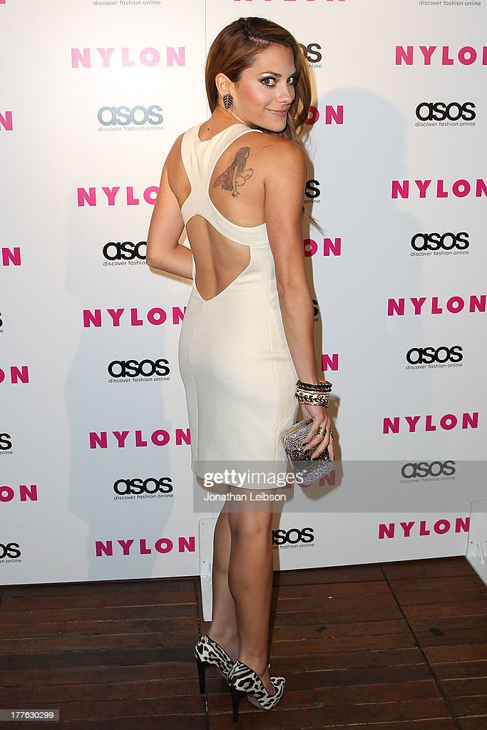 Inbar Lavi attends the NYLON, ASOS + Cover Star Emily VanCamp Celebrate The September Issue At The Redbury at The Redbury Hotel on August 24, 2013 in Hollywood, California.