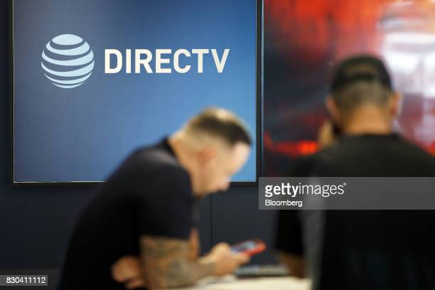 Inc and DirecTV signage is displayed at a company store in Newport Beach California US on Thursday Aug 10 2017 ATT Inc shares surged the most in more...
