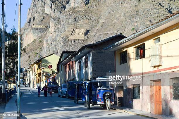 Inca sagrado Valley-Ollantaytambo Village
