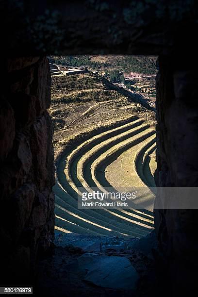 Inca Terraces, Pisaq, Peru