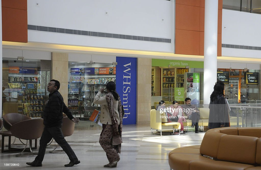 In-campus retail stores of WH Smith and Spexx at Fortis Memorial Research Institute sector -44 on January 19, 2013 in Gurgaon, India.