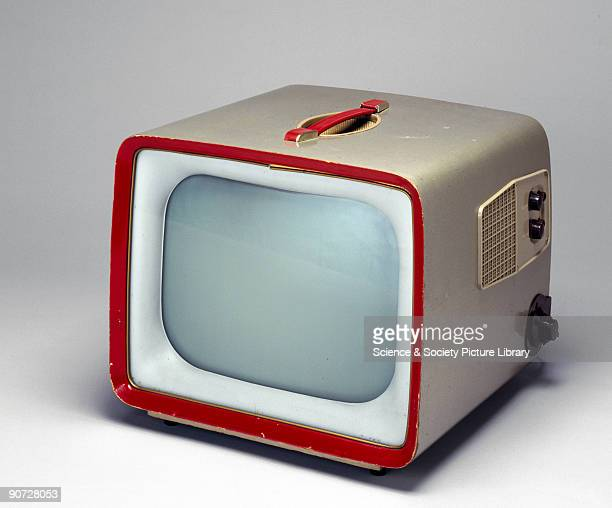 12 inch 405 line band I/band III portable television receiver manufactured by Sobell Industries Ltd in Langley Slough Berkshire By the early 1950s...