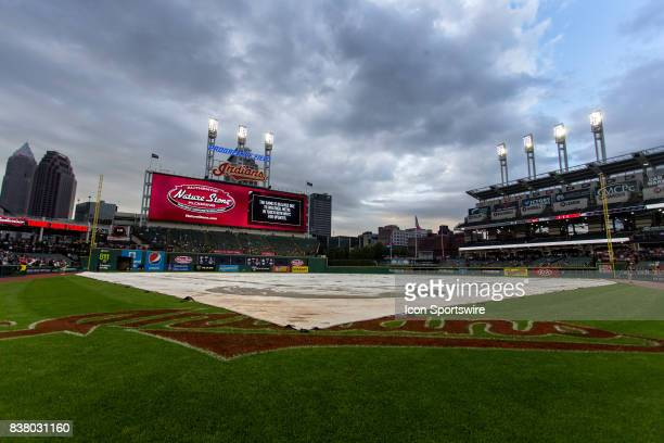 Inclement weather has delayed the start of the Major League Baseball game between the Boston Red Sox and Cleveland Indians on August 22 at...