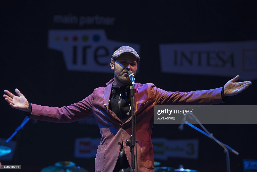Incognito performs at the last concert of the Torino Jazz Festival on May 01, 2016 in Turin, Italy.