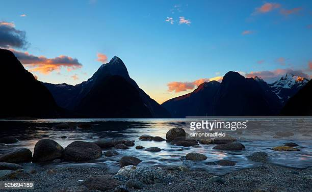 Incoming Tide At Milford Sound