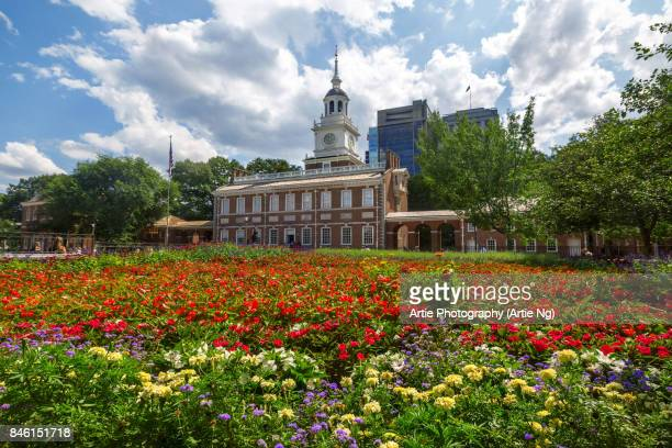 Independence Hall, Independence National Historical Park, Philadelphia, Pennsylvania, United States