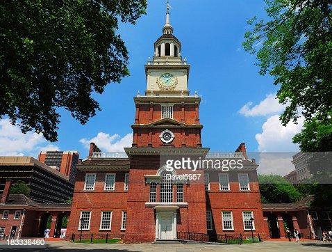 Independence Hall located in Philadelphia Pennsylvania