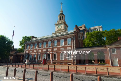 Independence Hall, north facade view