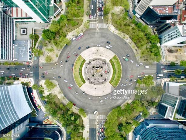 メキシコシティー内の独立記念塔