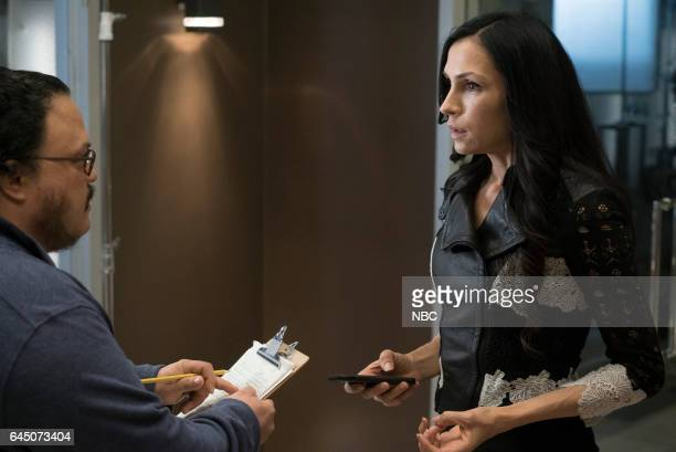 REDEMPTION 'Independence USA' Episode 102 Pictured Adrian Martinez as Dumont Famke Janssen as Susan 'Scottie' Hargrave