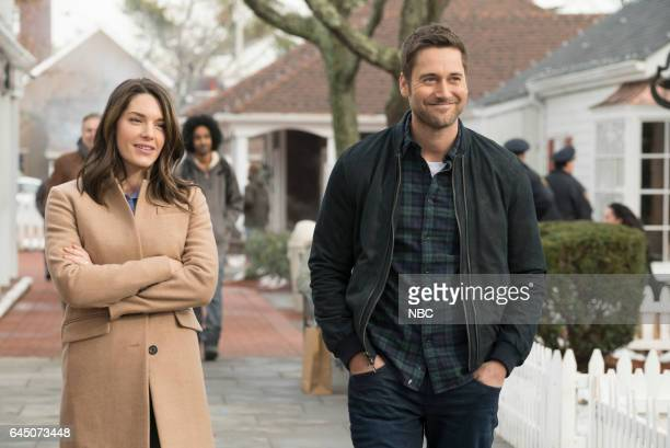 REDEMPTION 'Independence USA' Episode 102 Pictured Kelli Barrett as Cynthia Ryan Eggold as Tom Keen