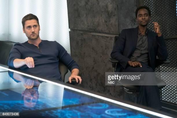 REDEMPTION 'Independence USA' Episode 102 Pictured Ryan Eggold as Tom Keen Edi Gathegi as Matias Solomon
