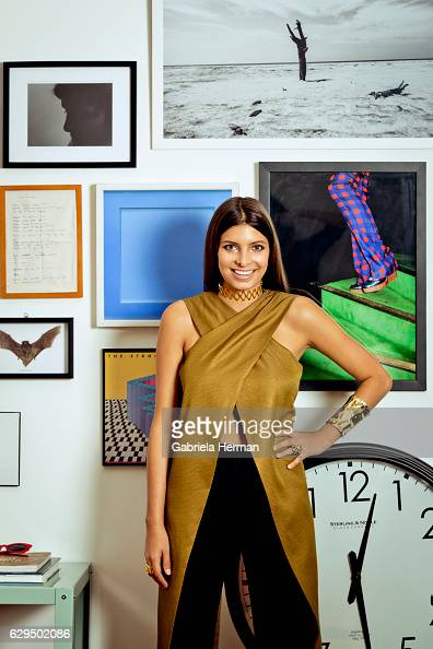 Independent curator and creative director Roya Sachs is photographed for Avenue Magazine on November 5 2015 in New York City PUBLISHED IMAGE