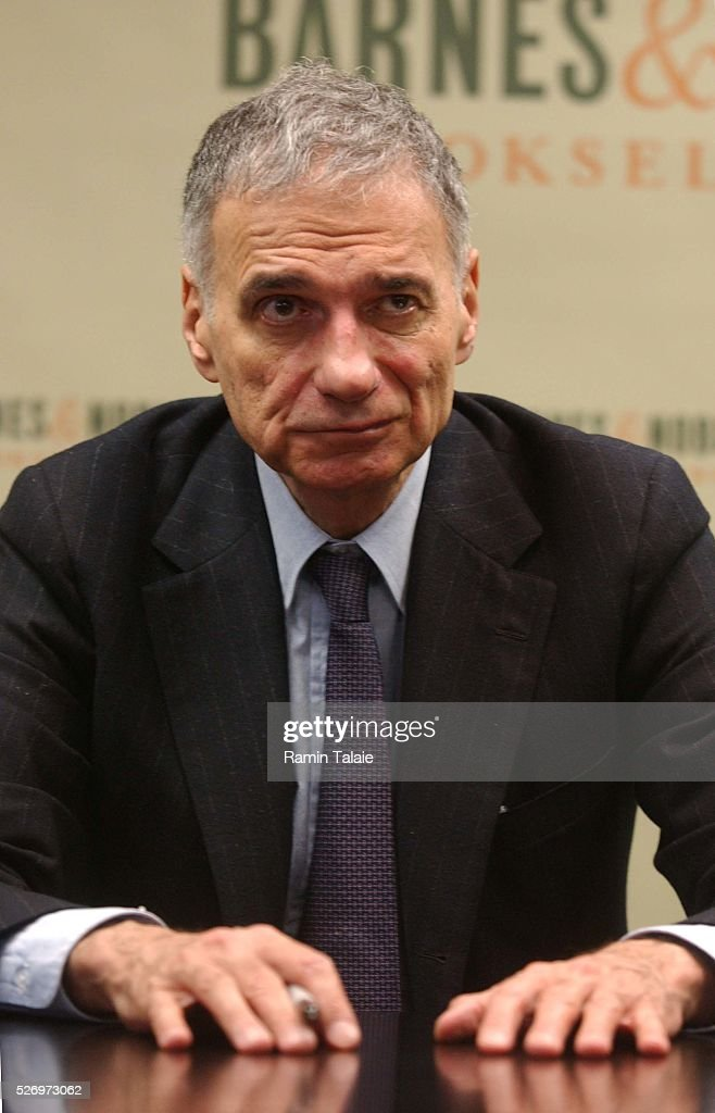Ralph Nader | Getty Images