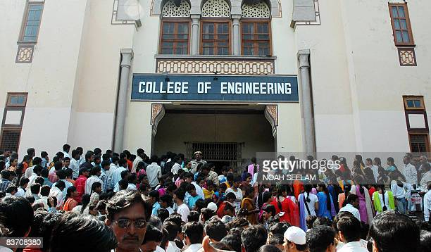 IndeUEEuropeEstéducationuniversité PREV by ALEXIA EYCHENNE In this picture taken on May 4 Indian students wait outside the the examination center for...