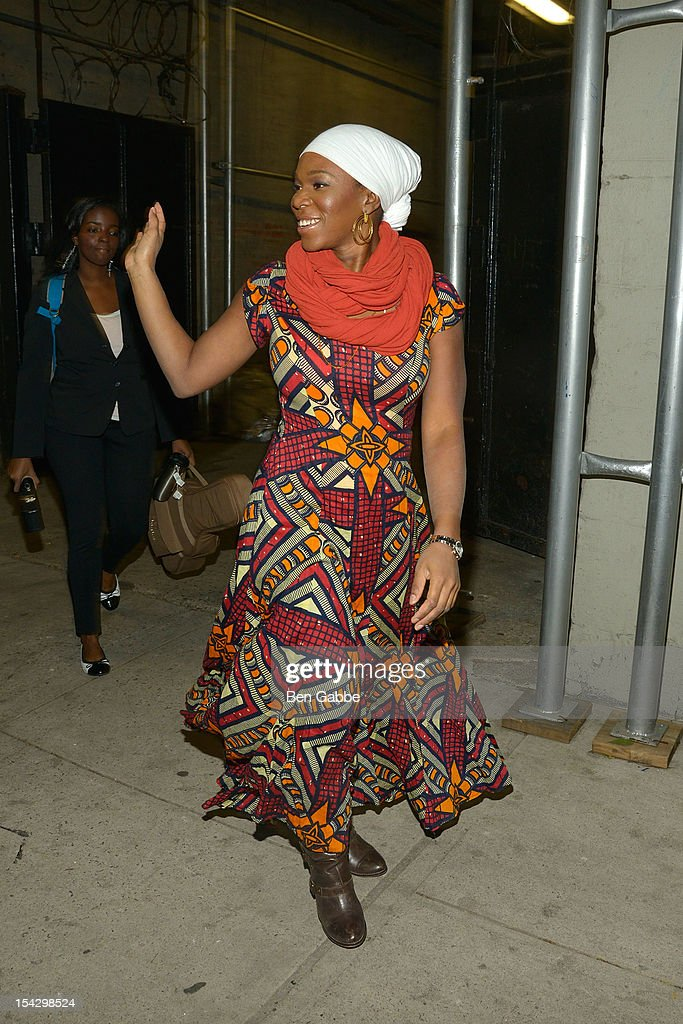 India Arie attends GEMS Benefit Gala For Girls Educational And Mentoring Services at El Museo Del Barrio on October 17, 2012 in New York City.
