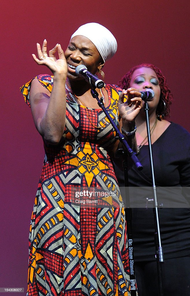 India Arie performs at the GEMS Girls Like Us Benefit Gala hosted by Demi Moore And Rachel Lloyd at El Museo Del Barrio on October 17, 2012 in New York City.