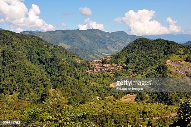 India Arunachal Pradesh Along Valley Garu Village