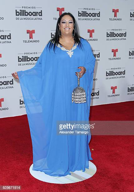 India attends the Billboard Latin Music Awards at Bank United Center on April 28 2016 in Miami Florida