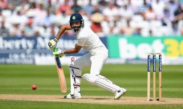 England v India: 1st Investec Test - Day Two : News Photo