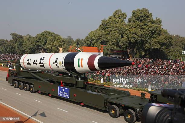 India celebrated its 64 th Republic Day on Jan 26 2013 marking it with a mighty parade on the Raj Path in New Delhi Military prowess was show cased...