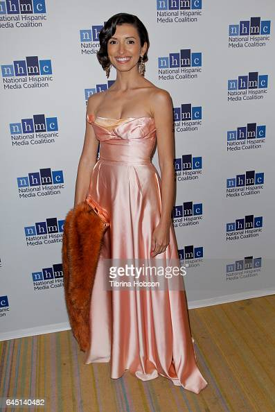India De Beaufort attends the National Hispanic Media Coalition's 20th Annual Impact Awards Gala at Regent Beverly Wilshire Hotel on February 24 2017...