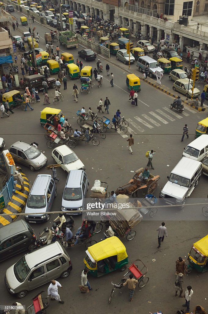 India, Delhi, Old Delhi : Stock Photo