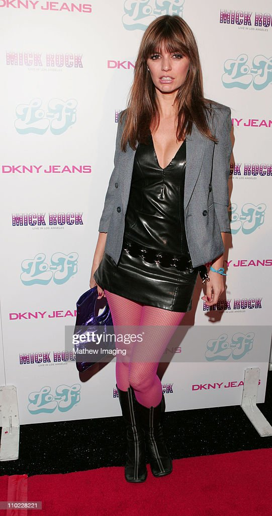 India Dupre during DKNY Jeans and Lo-Fi Gallery Present 'Mick Rock Live in LA' Exhibit at Lo-Fi Gallery in Hollywood, California, United States.