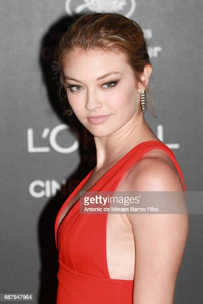 India Gants attends the Gala 20th Birthday Of L'Oreal In Cannes during the 70th annual Cannes Film Festival at Hotel Martinez on May 24 2017 in...