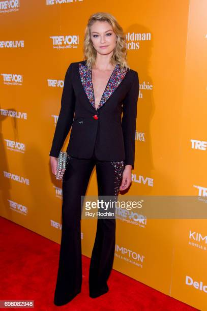 India Gants attends TrevorLIVE New York 2017 at Marriott Marquis Times Square on June 19 2017 in New York City