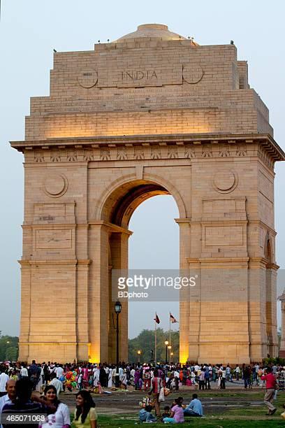 India Gate at dusk