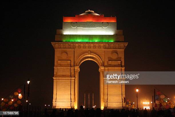 India Gate During Republic Day Celebrations