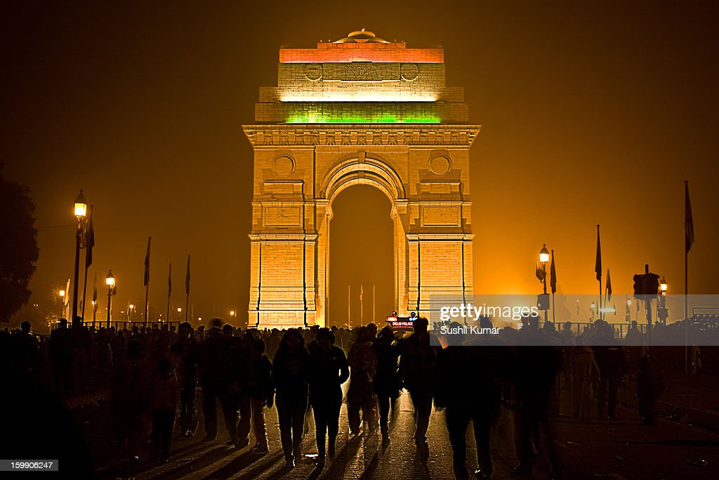 India gate on 26th jan 2010