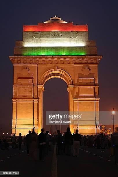 India Gate on Republic Day Celebration