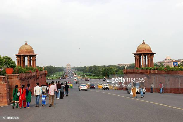India Gate through President House