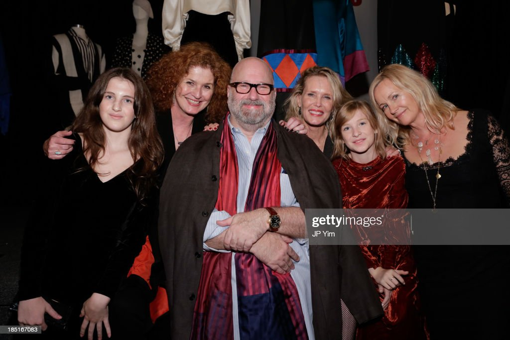 India Halsted, Yasmine Guenancia, Jed Krascella, Nancy Donahue, Uma Halsted and Lisa Riley attend 'Perry Ellis: An American Original' By Jeffrey Banks book launch hosted by the CFDA, Perry Ellis and Parsons the New School for Design on October 17, 2013 in New York City.