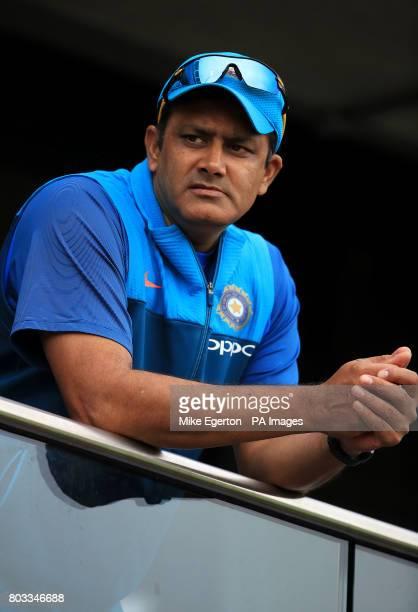 India head coach Anil Kumble