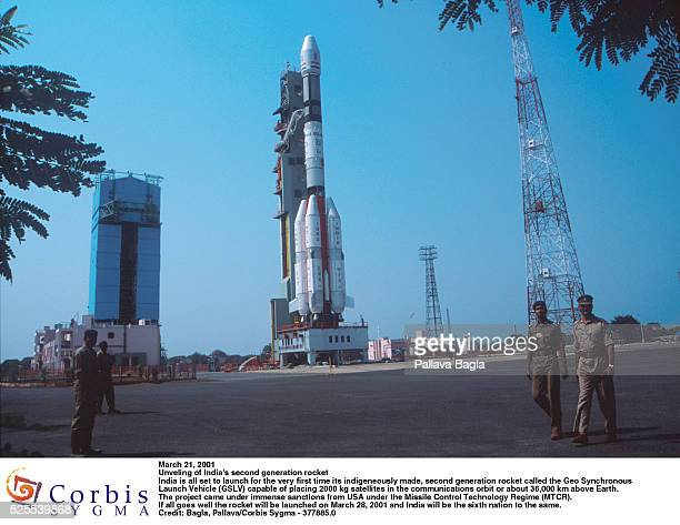 India is ready to launch its new 2nd generation rocket the GSLV rocket