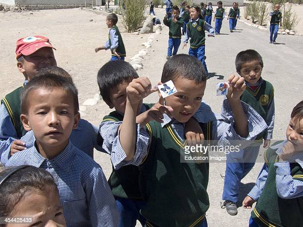 India Jammu and Kashmir Ladakh Region Leh Provincial Capital Altitude 3505 Meters Sos Tibetan Childrens' Village